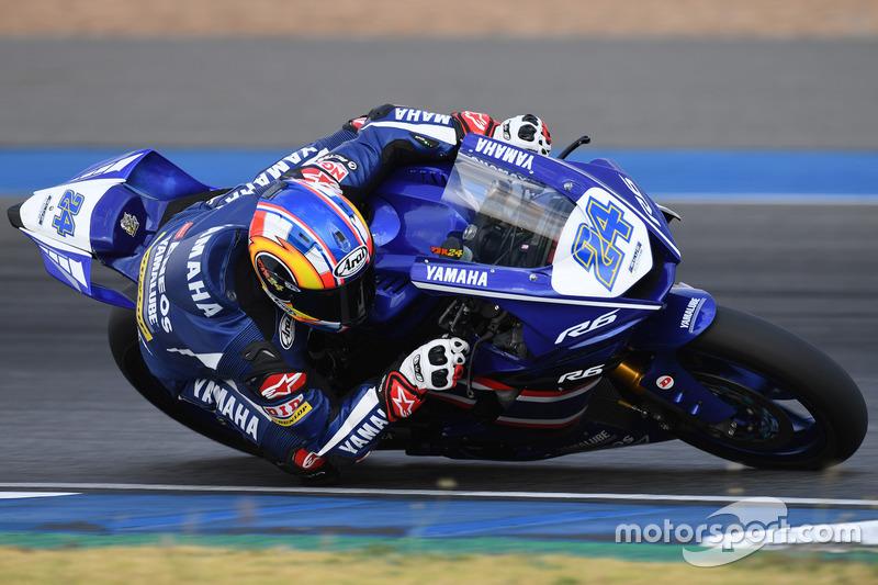 SS600: Decha Kraisart, Yamaha Thailand Racing Team