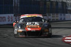 #12 Black Swan Racing Porsche 911 GT3 R: David Calvert-Jones