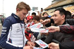Sergey Sirotkin, Williams for the fans