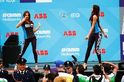 Les danseuses de l'EJ