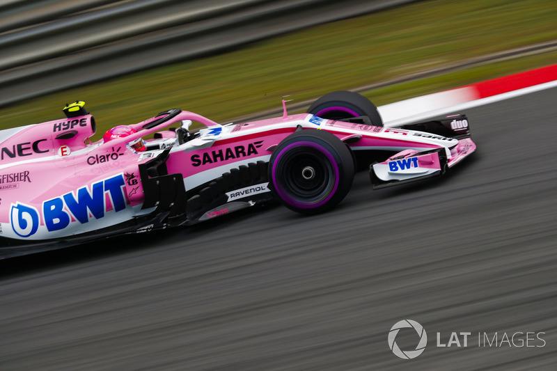 12 місце — Естебан Окон, Force India. Умовний бал — 8,907