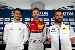 Press Conference with Pascal Wehrlein, Mercedes-AMG Team HWA, René Rast, Audi Sport Team Rosberg, Timo Glock, BMW Team RMG