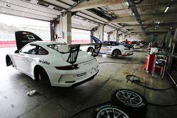 Le Porsche 911 GT3 nel garage