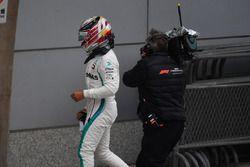 Lewis Hamilton, Mercedes-AMG F1 en parc ferme