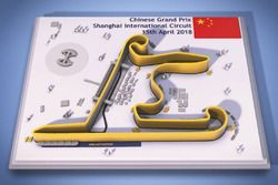 Chinese Grand Prix circuitmap