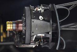 Moyeu de roue avant de la Red Bull Racing RB14