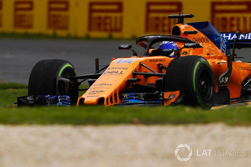 Alonso was blij om weer in de punten te rijden