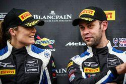 Podium: Race winners #75 Optimum Motorsport Aston Martin V12 Vantage GT3: Flick Haigh, Jonny Adam