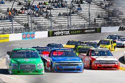 Ben Rhodes, ThorSport Racing, Ford F-150, Stewart Friesen, Halmar Friesen Racing, Chevrolet Silverad