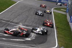 Льюис Хэмилтон, McLaren MP4-23, Роберт Кубица, BMW Sauber F1.08, Кими Райкконен, Ferrari F2008, Нико