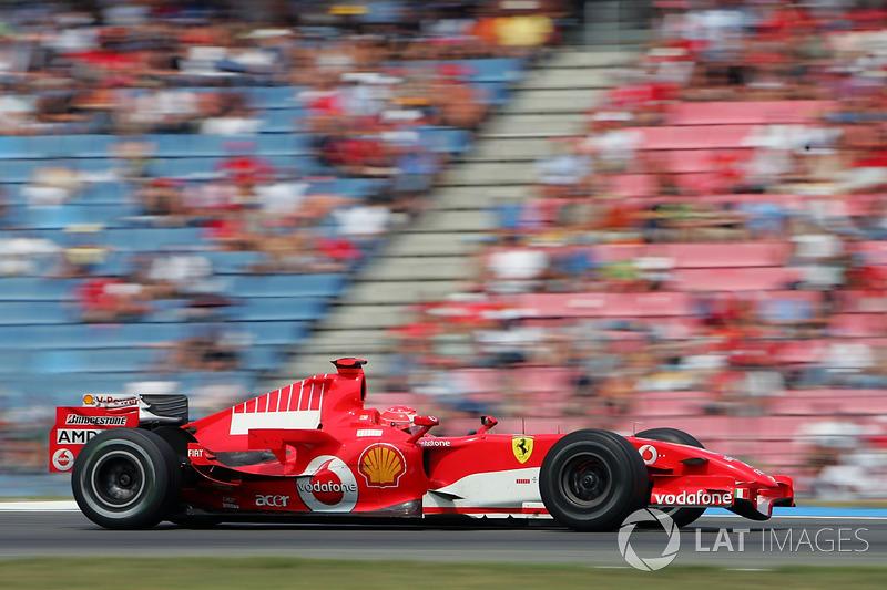 2006: Ferrari - 2º, 7 victorias, 121 punos, 18 carreras