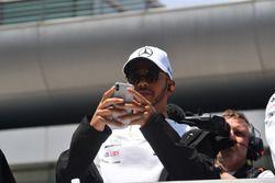 Lewis Hamilton, Mercedes-AMG F1 desfile de pilotos