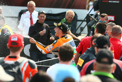 Podium: race winner Jules Cluzel, NRT