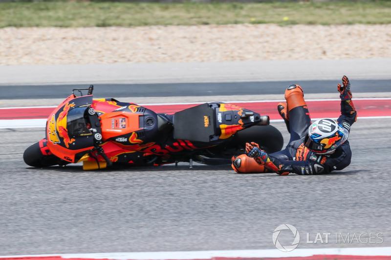 Pol Espargaro, Red Bull KTM Factory Racing (12 kecelakaan)