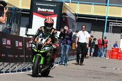 Jonathan Rea, Kawasaki Racing rides into parc ferme