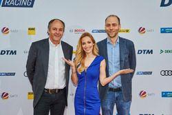 Gerhard Berger, ITR Chairman, Andrea Kaiser, Kaspar Pflüger