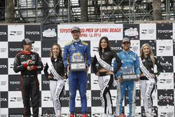 Will Power, Team Penske Chevrolet, Alexander Rossi, Andretti Autosport Honda, Ed Jones, Chip Ganassi
