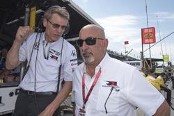 Ricardo Nault and Bobby Rahal, Rahal Letterman Lanigan Racing Honda