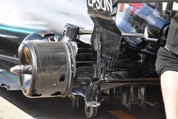 Frenos traseros del Mercedes AMG F1 W09