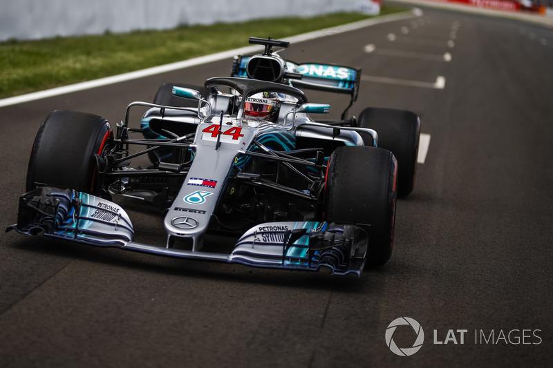 Em 2018 o tempo da pole position de Lewis Hamilton também foi o recorde da pista, com 1min16s173