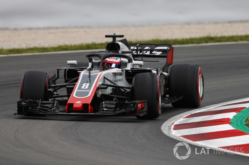 Romain Grosjean, Haas F1 Team VF-18
