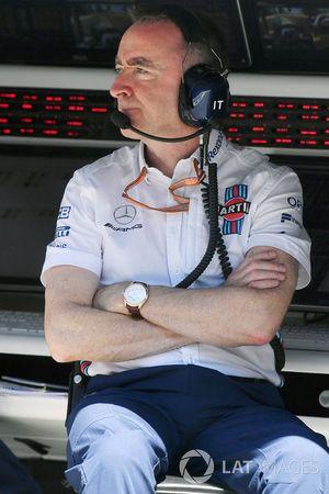 Paddy Lowe, accionista de Williams y director técnico