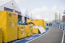 DHL crates