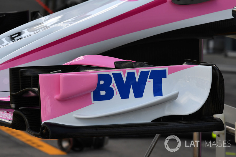 Force India VJM11 ön kanat detay