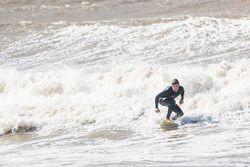 Antonio Felix da Costa, Andretti Formula E Team, goes surfing