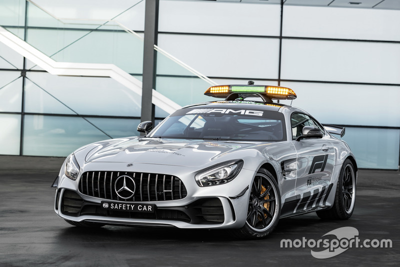 Mercedes-AMG GT R Official F1 Safety Car 2018
