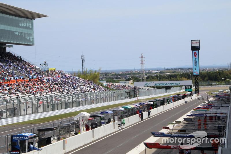 Jelang balapan Super GT ronde ketiga