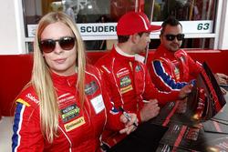 Кристина Нильсен, #63 Scuderia Corsa Ferrari 458 Italia
