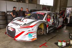 Audi R8 LMS in der Box