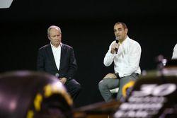 Jerome Stoll, Renault Sport F1 president met Cyril Abiteboul, Renault Sport F1 managing director