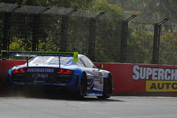 #82 International Motorsport Audi R8 LMS Ultra: Andrew Bagnall, Rick Armstrong, Matt Halliday in tro