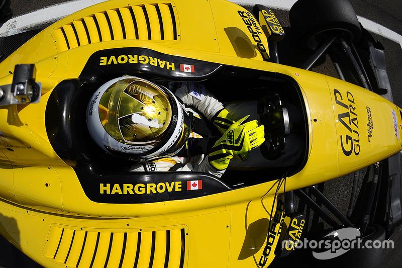 #10: Indy-Lights-Pilot Scott Hargrove, Team Pelfrey