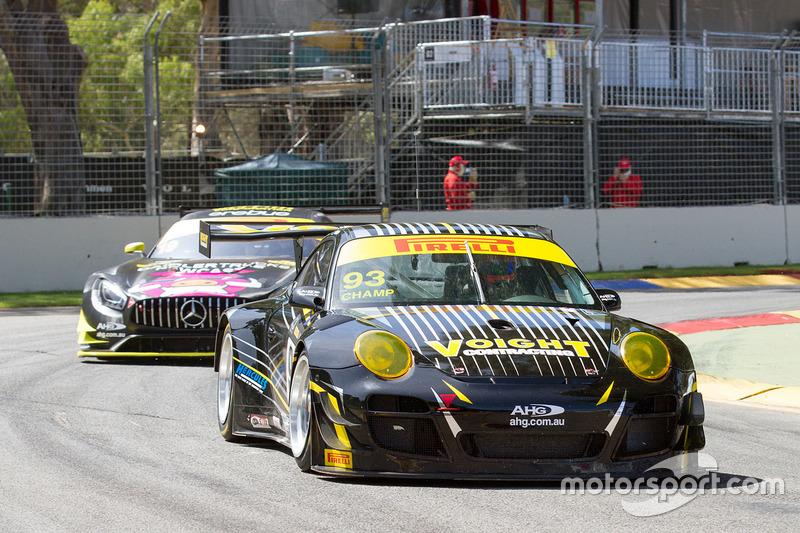 John Martin, Aaron Tebb, Waltec Motorsport Porsche 997 GT3-R