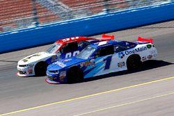 Elliott Sadler, JR Motorsports Chevrolet and Martin Roy, Chevrolet