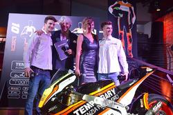 Lorenzo Baldassarri et Luca Marini, Forward Racing