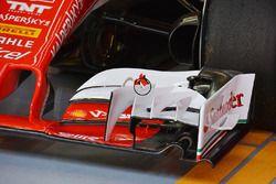 Detail Forntflügel, Ferrari