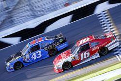 Ryan Reed, Roush Fenway Racing Ford, Jeb Burton, Richard Petty Motorsports Ford