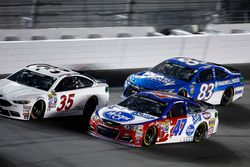 A.J. Allmendinger, JTG Daugherty Racing Chevrolet; Michael Waltrip, BK Racing Toyota