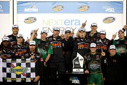 Ganador de la carrera: Johnny Sauter, GMS Racing Chevrolet