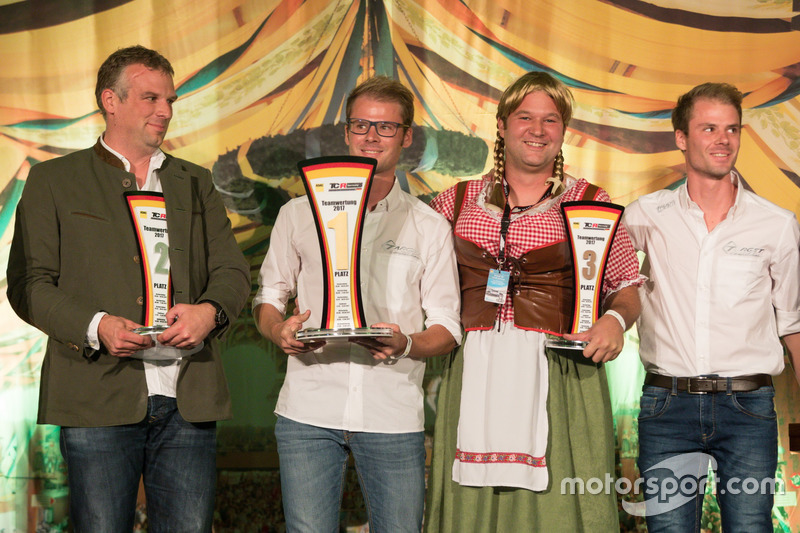 Teamwertung 2017: 1. Target Competition, 2. Prosport Performance, 3. Wolf-Power Racing