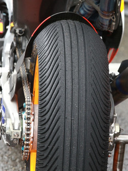 Rain tire of Marc Marquez, Repsol Honda Team