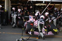 Автомобиль VJM10 Серхио Переса, Sahara Force India F1