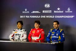 Nobuharu Matsushita, ART Grand Prix, Charles Leclerc, PREMA Powerteam and Nicholas Latifi, DAMS in t