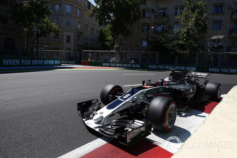 14º Romain Grosjean, Haas F1 Team VF-17 (10 puntos)