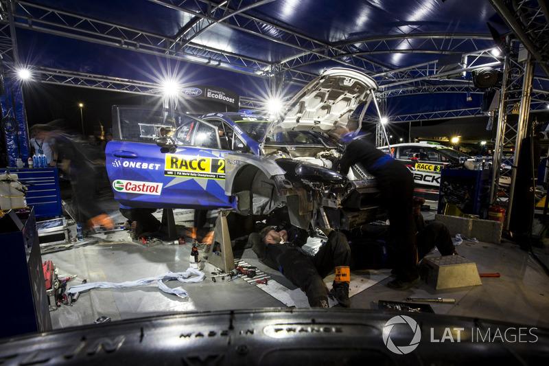 Ford Fiesta WRC Отта Тянака и Мартина Ярвеои