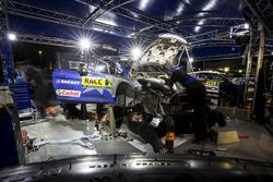 La voiture d'Ott Tänak, Martin Järveoja, Ford Fiesta WRC, M-Sport